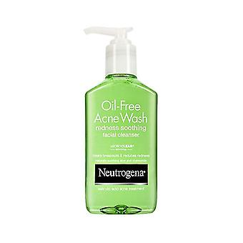 Neutrogena oil-free acne wash, redness soothing facial cleanser, 6 oz
