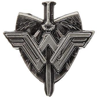 Épingle - DC Comics - Wonder Woman Sword et Shield Logo Pewter New 45748