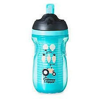 Tommee Tippee Glass With Straw Child Easy Drink. + 12 Months