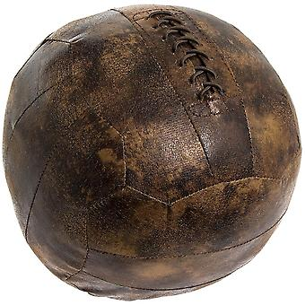Antique Style Door stop Football Brown Faux Leather Shabby Chic Gift
