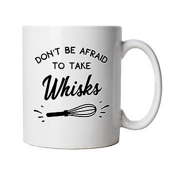 Don ' t være bange for at tage whisks, mug | Kage Scone brød kage kiks pie konditori | Star Baker bake off Soggy Technical Showprop | Bagning mad Cup gave