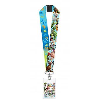 Lanyard - Disney - Toys Story w/Deluxe Card Holder New 29699