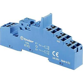 Relay socket 1 pc(s) Finder Compatible with series: Finder 46 series, Finder 99 series, Finder 86 series Finder 46.52,