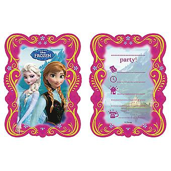 Disney Frozen 12 Invitations with envelops kids Birthday Girls pary invitations
