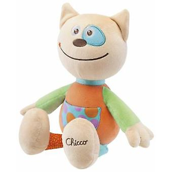 Chicco Soft Plush Cat (Toys , Preschool , Babies , Soft Toys)