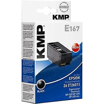 KMP Ink replaced Epson T2601 (26) Compatible Black 1626,4801