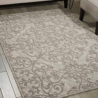 Rugs -Damask - Ivory / Grey DAS01