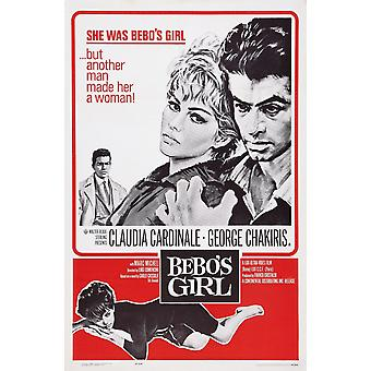 BeboS Girl Us Poster Art From Left Marc Michel Claudia Cardinale George Chakiris 1964 Movie Poster Masterprint