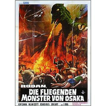 Rodan Movie Poster (11 x 17)