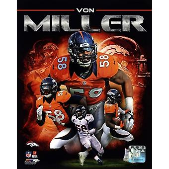 Von Miller 2013 Portrait Plus Photo sportive