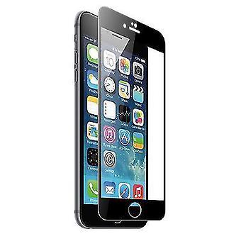 Sort fuld dækning af hærdet glas 3D buet skærm protektor For iPhone 7