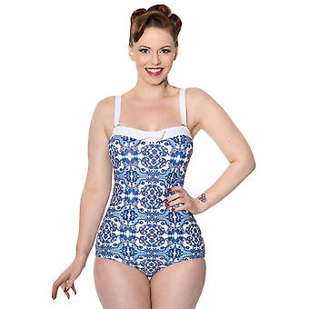 Banned Lunar One Piece Swimsuit L