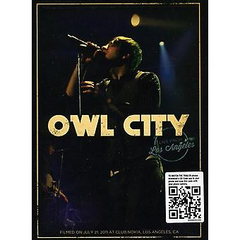 Owl City - Owl City: Live From Los Angeles [DVD] USA import