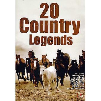 20 land legender [DVD] USA importerer