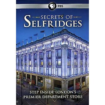 Importación de secretos de Estados Unidos de Selfridges [DVD]