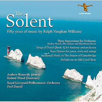 R. Vaughan Williams - Solentsundet: 50 år med musik af Ralph Vaughan Williams [CD] USA import
