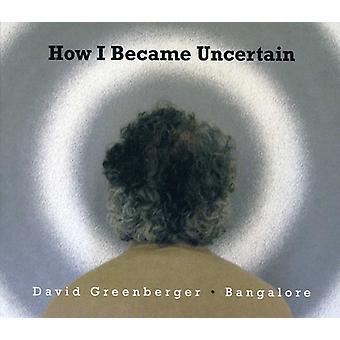 David Greenberger & Bangalore - hvordan jeg blev usikker [CD] USA importerer