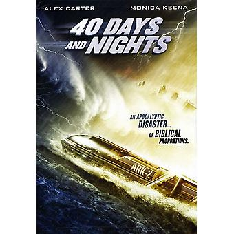 40 dage & nætter [DVD] USA importerer