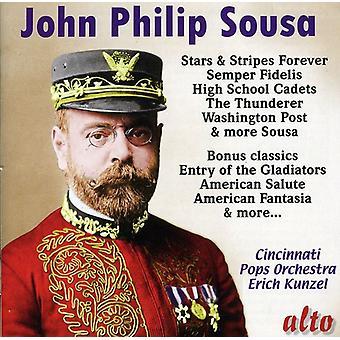 J.P. Sousa - Sousa: Marscher, polkor & Americana [CD] USA import