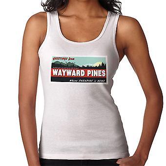 Where Paradise Is Home Wayward Pines Women's Vest