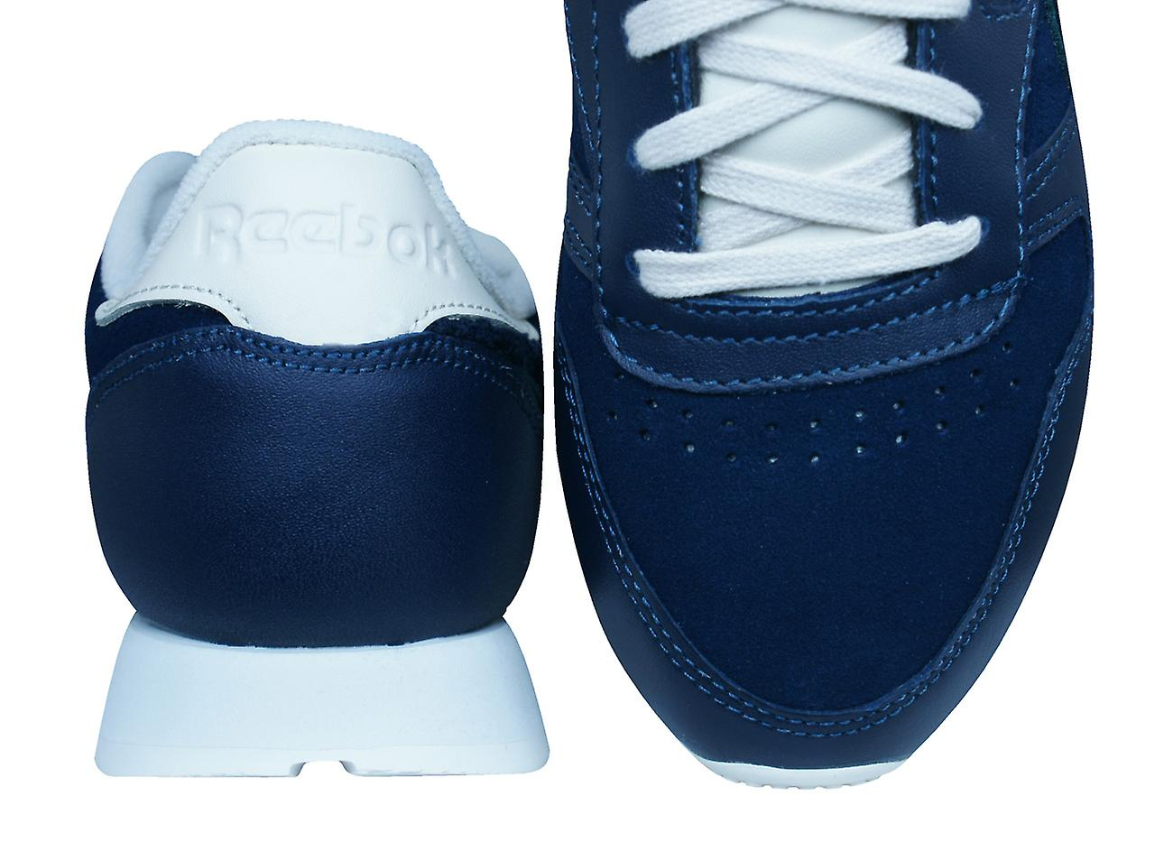 Reebok Classic Classic Classic Leather Ivy League Womens Trainers / Shoes - Blue c18cd2
