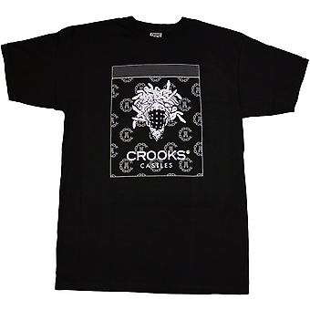 Crooks & Castles Bandito Dime T-shirt Black