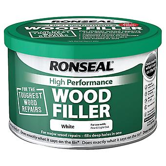 Ronseal 275g High Performance Wood Filler - White