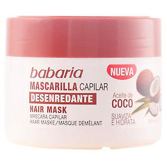 Babaria Detangler Hair Mask Coconut Oil 250 Ml