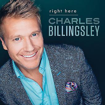 Charles Billingsley - højre her [CD] USA import