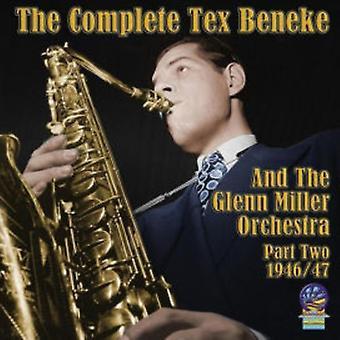 Tex Beneke & Orchestra - Tex Beneke & Orchestra: Complete Tex & Glenn Miller Orchestra 2 [CD] USA import