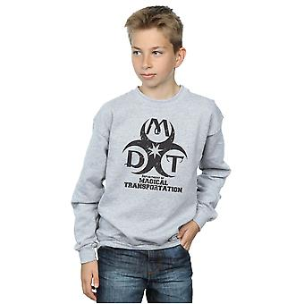 Harry Potter Boys Department of Magical Transportation Logo Sweatshirt