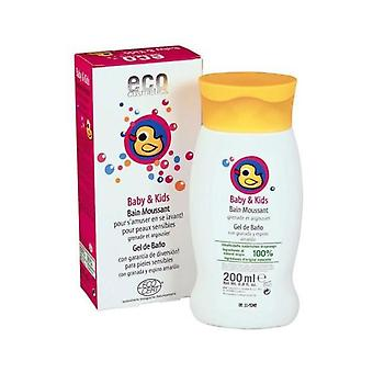 Eco Cosmetics Baby And Child bath gel, 200Ml (Children , Cosmetics , Body lotions)