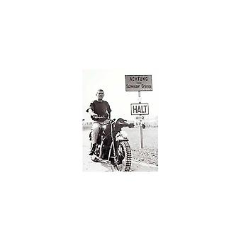 Sporting Display Steve McQueen The Great Escape HALT Poster