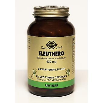 Solgar Eleuthero 520 mg Vegetable Capsules 100ct