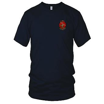 USMC Marines Air Support HMM-361 Rice Runners - Military Vietnam War Embroidered Patch - Ladies T Shirt