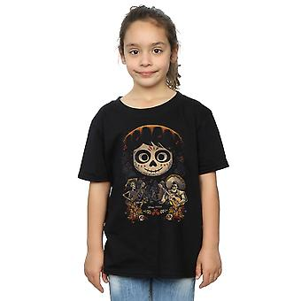 Disney Girls Coco Miguel Face Poster T-Shirt