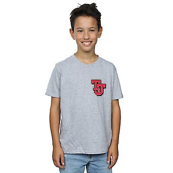 Tom And Jerry Boys Collegiate Logo T-Shirt