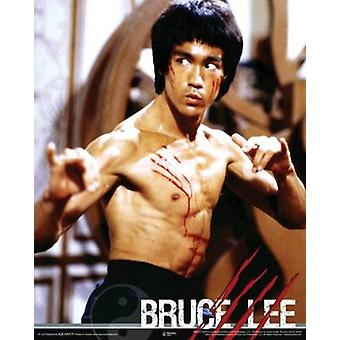 Bruce Lee - Fight Poster Poster Print