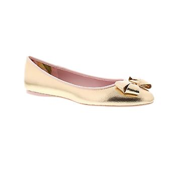 Ted Baker Immet 2 - Rose Gold Pu Tumble Metallic (Man-Made) Womens Pumps