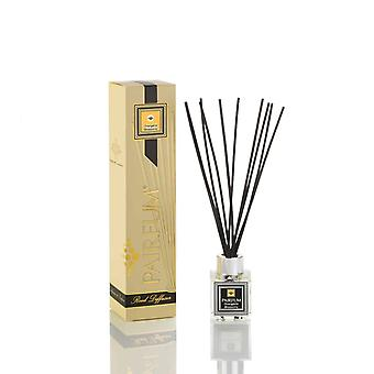 Natural Reed Diffuser - Long-lasting & Healthy - Beautiful Perfumes that Compliment You - Fragrance for 2-3 months (50 ml) - Orangerie Blossoms by PAIRFUM - Black Reeds - Glass Cube
