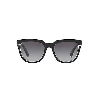 Ralph By Ralph Lauren Two Tone Square Sunglasses In Black Crystal