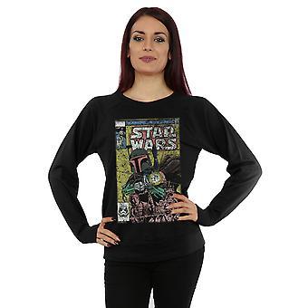 Star Wars Women's Boba Fett Comic Sweatshirt