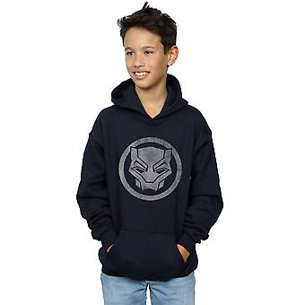 Wonder Boys Black Panther verdrietig pictogram Hoodie