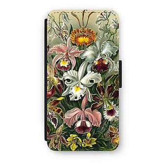 iPhone 7 Plus estuche Flip - Haeckel Orchidae