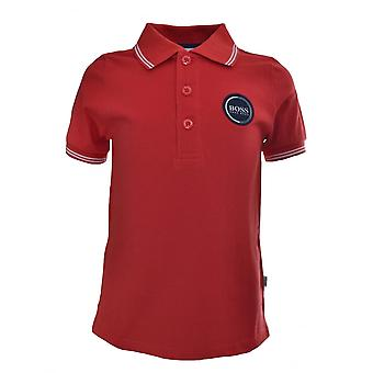 Hugo Boss Kids Hugo Boss Infants Red Polo Shirt