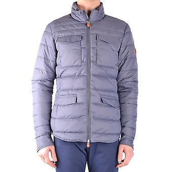 Save the duck men's MCBI269053O grey polyester Quilted Jacket