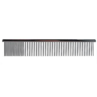 Groom Professional Black Steel Comb 21cm