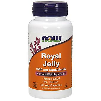Now Foods Royal Jelly 1500 mg Equivalency 60 vcaps