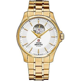 Swiss military mens watch automatic A14050PL-2 M open heart / SMA34050. 04