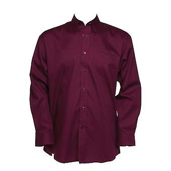 Kustom Kit Mens Corporate Oxford Shirt Long Sleeved